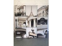 Paris picture frame