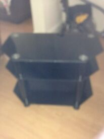 Three tier television stand new