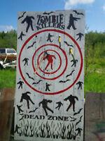 Genlty used Zombie Axe throwing Block
