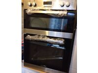 Oven double electric NEW never used we sale cheap