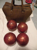 bowling balls with case