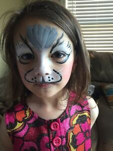 Face painting, balloon twisting and bouncy castle