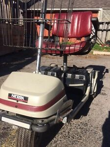 Older scooter with newer batteries. Works perfect! London Ontario image 3