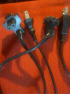 Laptop power cords only 2 or 3 prong London Ontario image 3