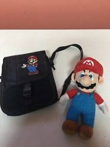 Mario stuffy and ds case!!