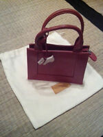 RADLEY London mini red real leather clutch bag