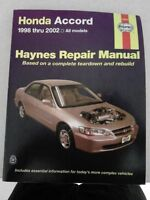 haynes Repair Manual - Honda Accord