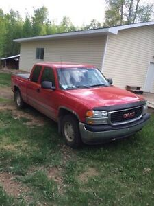 03 Gmc  trade for sled