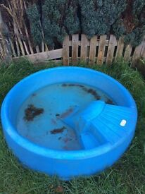 Little tikes paddling pool / duck pond