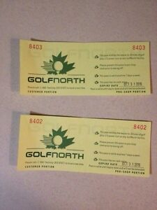 Golf North Passes
