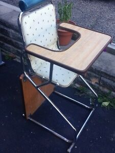 Vintage high chair Kitchener / Waterloo Kitchener Area image 2