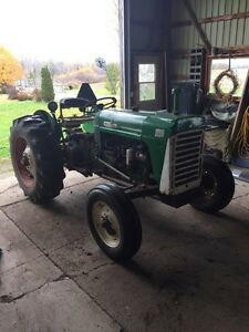 1967 Oliver 550 runs very well Bush hog included London Ontario image 7