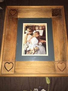 Country pictures with wooden frames Cambridge Kitchener Area image 2