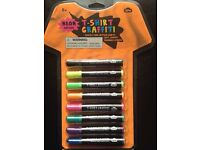 T-Shirt Graffiti Pens - Neon Edition