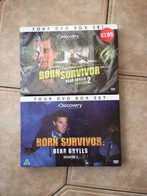 Bear Grylls DVD Box Sets - Season 1 and Season 2