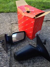 Vauxhall Astra mirrors