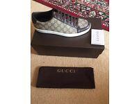 BRANDNEW men's Gucci trainers