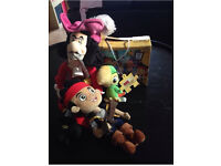 Disney Jake and the Neverland Pirates toy bundle