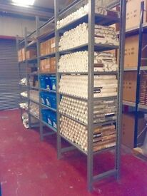 Metal Shelving - Large Quantity - Heavy Duty