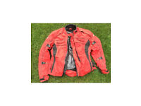 Women's motorbike jacket and trousers