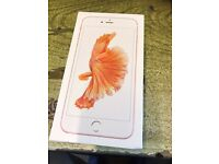 Apple iPhone 6s Plus 64gb rose gold! EE network!