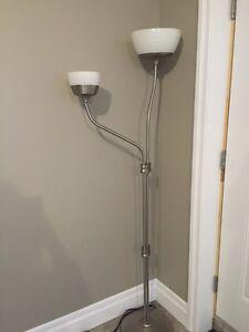 IKEA 2 light floor Lamp  Windsor Region Ontario image 1
