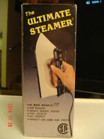 "BRAND NEW ""THE ULTIMATE STEAMER"" LIGHT WEIGHT FOR TRAVEL OR HOME"