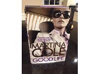 Martina Cole hardback book 'The Goodlife'