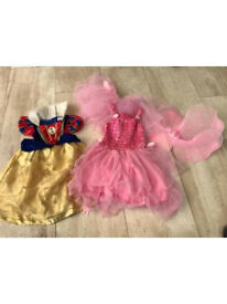 Snow White and fairy outfit 2-3