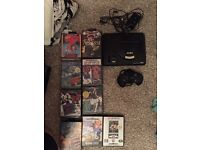 Retro Sega megadrive and games