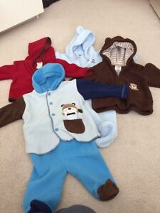 Boys winter clothing 3-9months