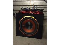 EDGE 900W 12 inch active subwoofer
