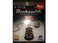 ps3 rocksmith game brand new