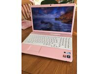 Sony Vaio rose gold pink laptop for sale