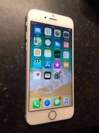 iPhone 6s Silver White Boxed 64GB