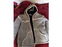 Tara London men's jacket coat size XL 100%pure wool