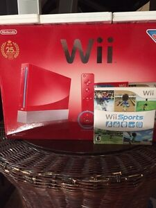 Nintendo Wii Special Red Console