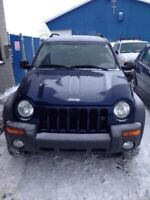 Jeep Liberty Sport or Trade