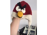 Angry birds hat for adult or teenager