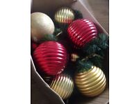 Extra Large Christmas Baubles - For tree or hanging decs