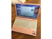 Sony Vaio rose gold laptop for sale