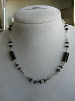 ATTRACTIVE GLASS BEADED COSTUME JEWELRY...[NECKLACE]...