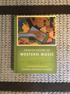 Selling Concise History of Western Music West Island Greater Montréal image 1