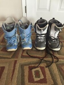 Snowboarding boots sizes 8. $50 each