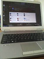 """Silver Sony Vaio dual core laptop 15.4"""" LCD"""