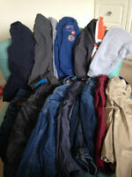 Lot of 13 pairs boy pants