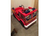 Fireman Sam Ride On 12V