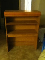 REAL OAK SHELVING UNIT