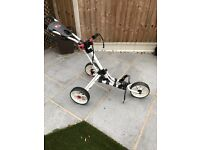 Ezeglide 3 wheel golf trolley