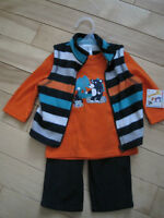 3 Piece Baby Boy Outfit - New